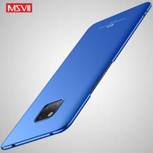 For Huawei Mate 20 Pro X Case Cover Msvii Slim Skin Coque Mate 20 Lite Case Hard PC back Cover Huawei Mate20 X Pro Lite Cases(China)