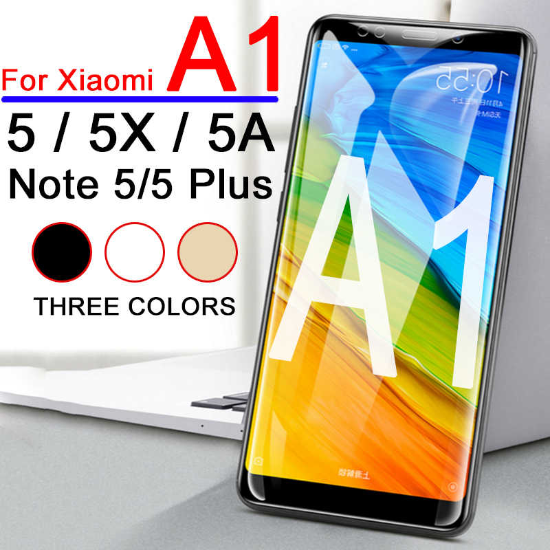 Xiaomi Xiaomei A1 Protective Glass Redmi 5 Note Plus Tempered Glas Xiami ksiomi Xiomi Red Mi 5A 5X A 1 Screen Protector Film