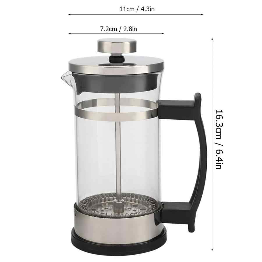 Компактный фильтр для кастрюль, аппарат для французского прессования из нержавеющей стали, для приготовления чая, кофе