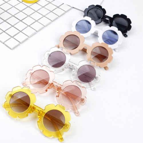 Stylish Kids Boys Girls Children Retro Round UV400 Sunglasses Goggles Fashion Baby Sunglasses