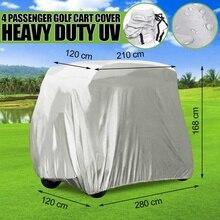 280x120x168 см 4 Автомобильная тележка для гольфа крышка сверхмощный водостойкий Чехол для Yamaha EZ Go Club автомобиля США