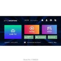 Abonnement IPTV arabe français italien Europe iptv flux en direct code de télévision iptv smart pro stalker 7000 chaînes