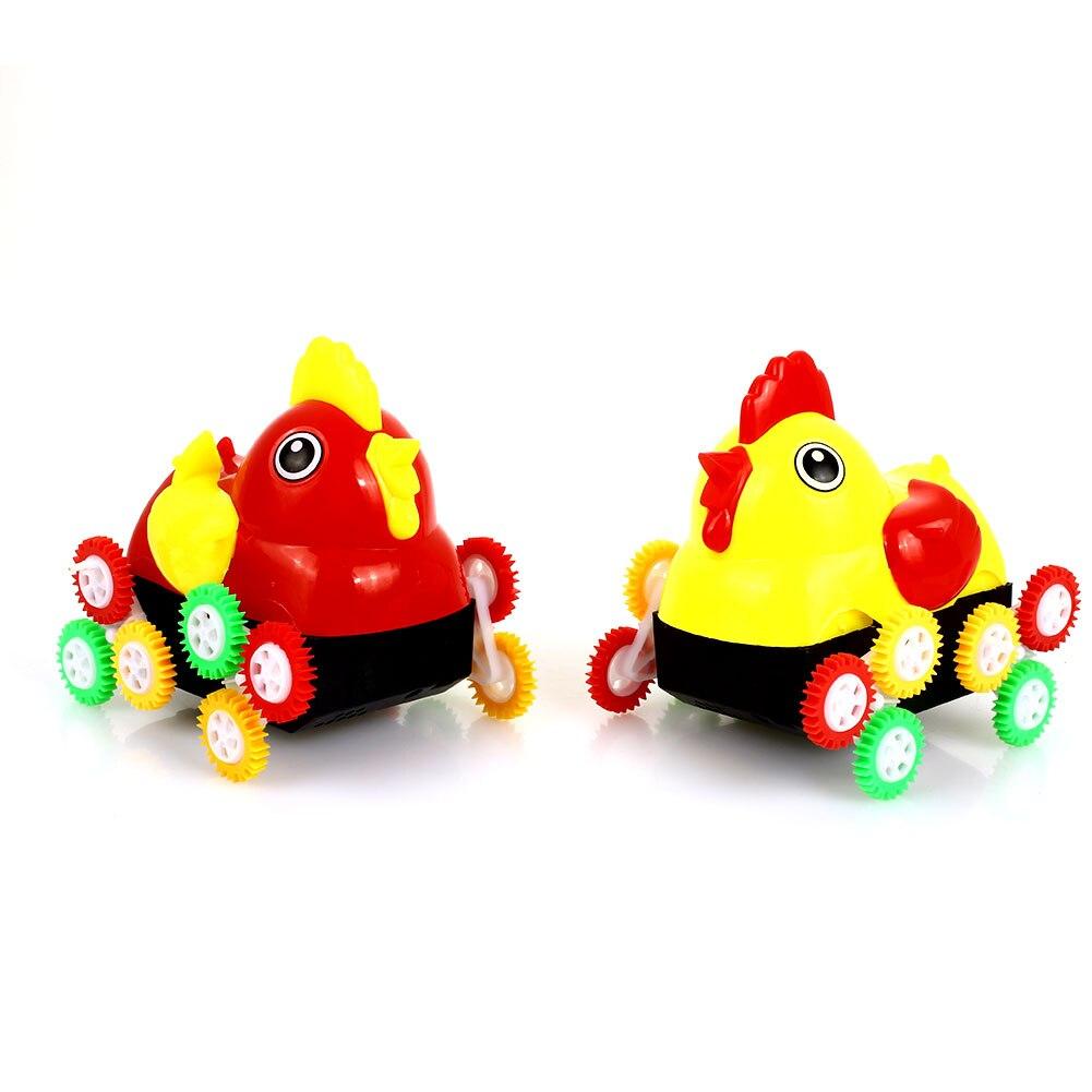 Электрический пластиковый самосвал имитация курицы игрушка интеллектуальная ходьба интересный Звук светодиодный эмуляционный Шарм электрическая курица игрушка