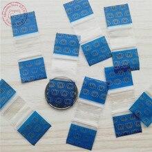 3 4 X Tiny Zip Lock Bags 100pcs Royal Gold