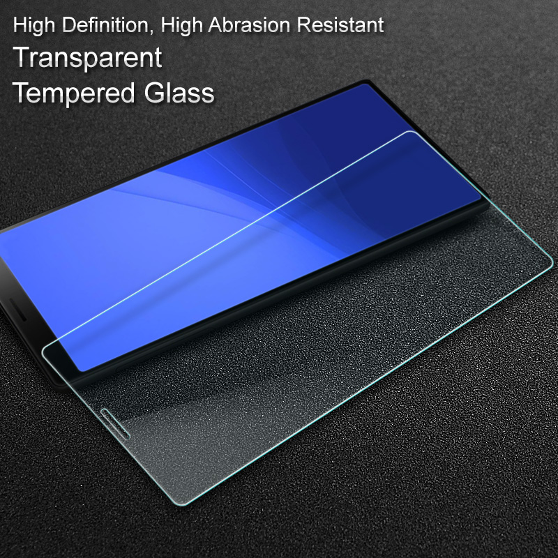 For Sony Xperia 10 Tempered Glass IMAK Transparent 9H Explosion-proof Screen Protector Protective Film Phone Glass Protection