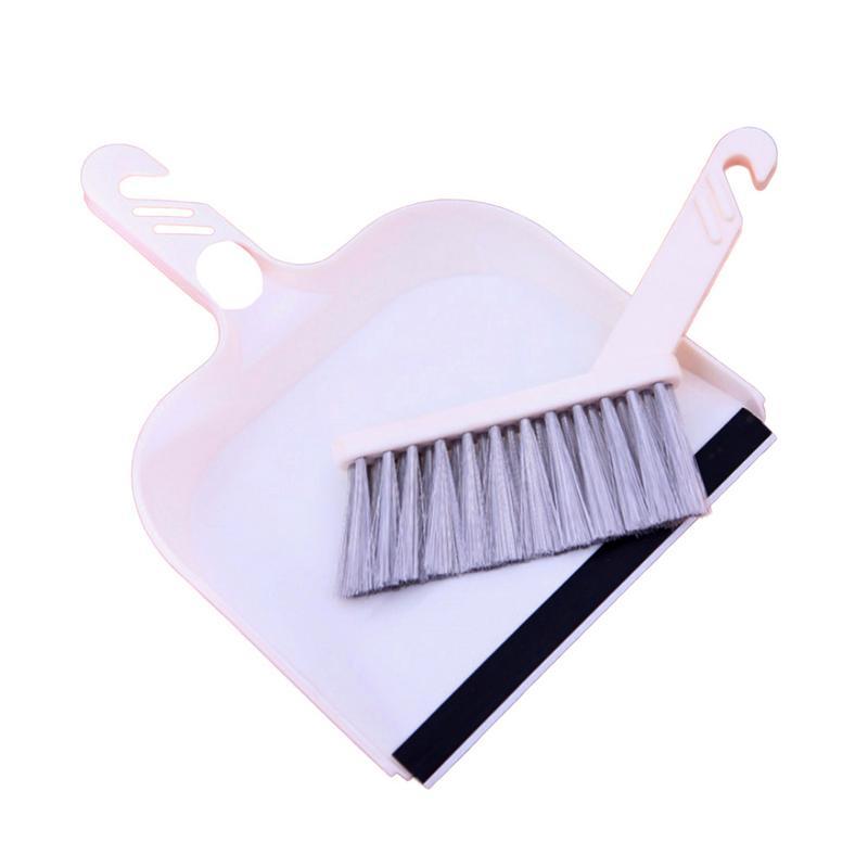 Humoristisch Mini Desktop Sweep Reinigingsborstel Kleine Bezem Stoffer Set Cleaning Tools Hoge Kwaliteit Hoge Keyboard Bank Schoonmaken Sweep