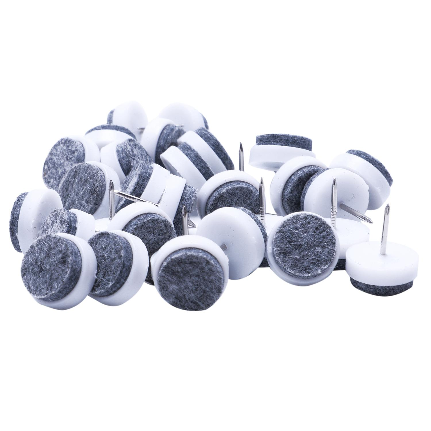 Promotion! Furniture Chair Sofa Feet Round Pads Nail Protectors  30PCS 22mm DiaPromotion! Furniture Chair Sofa Feet Round Pads Nail Protectors  30PCS 22mm Dia