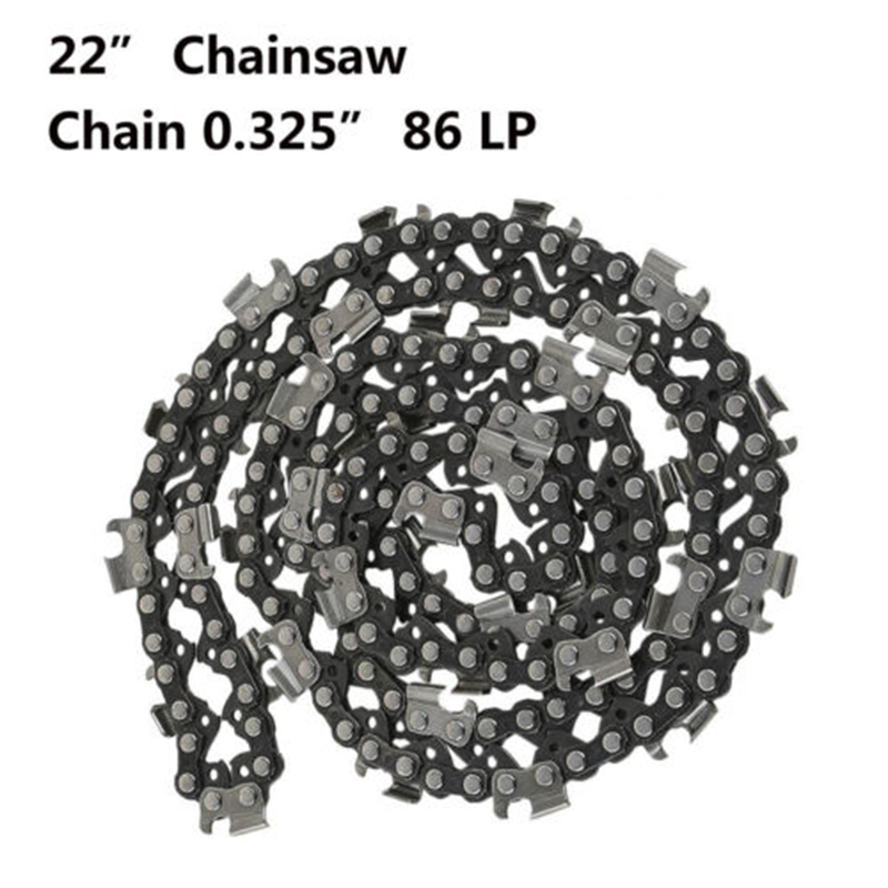 22 Inch Saw Chain Blade .325 LP Pitch 0.058 Gauge 86DL Drive Link For Chainsaw