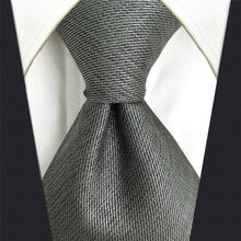 Fashion Solid Color Mens Neckties Accessories Business Wedding