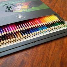 Lápis de madeira colorido 48/72 cores, lápis de óleo para pintura artística de escola, escritório