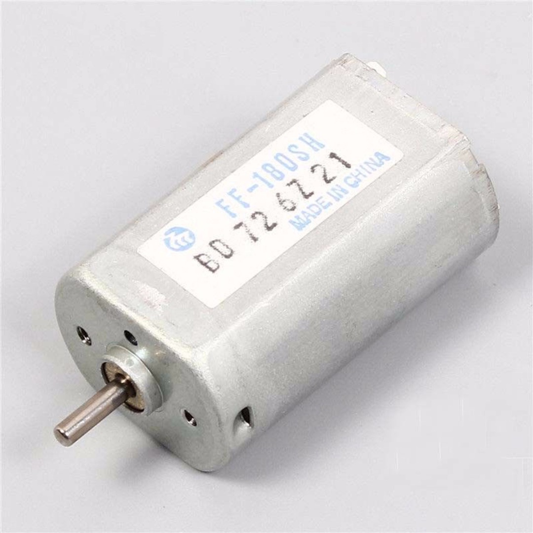 1pcs New FF-180SH DC 2.4V 10800RPM Mute Motor Stable For Shaver Electric Motors
