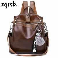 90b52cbab1dd Для женщин рюкзак высокое качество модные Молодежные из искусственной кожи  рюкзаки для подростка женская школьная сумка