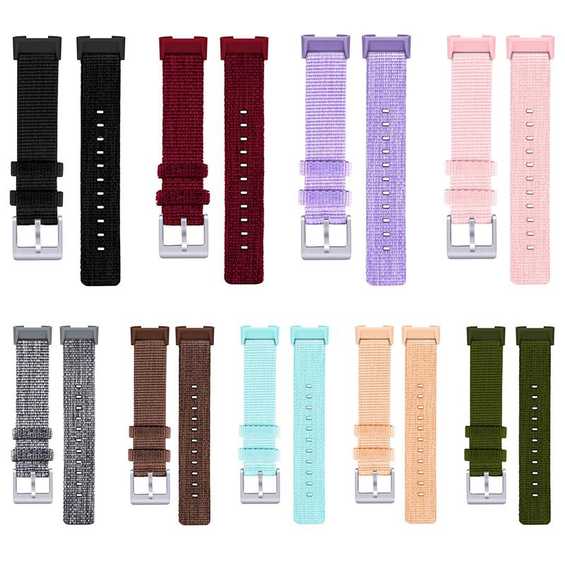 For Fitbit Charge 3 Ballistic Durable Military Nato Fabric Nylon Watch Band Army Sports Watchband For 007 James Bond Watch Strap