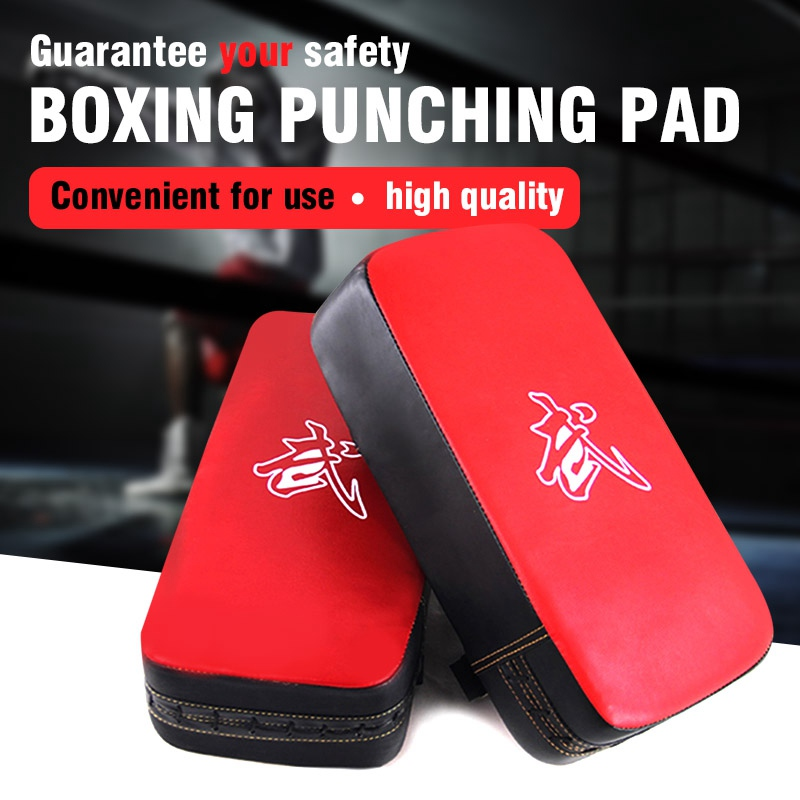 1pcs red boxing pads Thai Kick Boxing Strike Curve Pads Muay Arm Punch MMA For Boxing Taekwondo Foot Target цена 2017