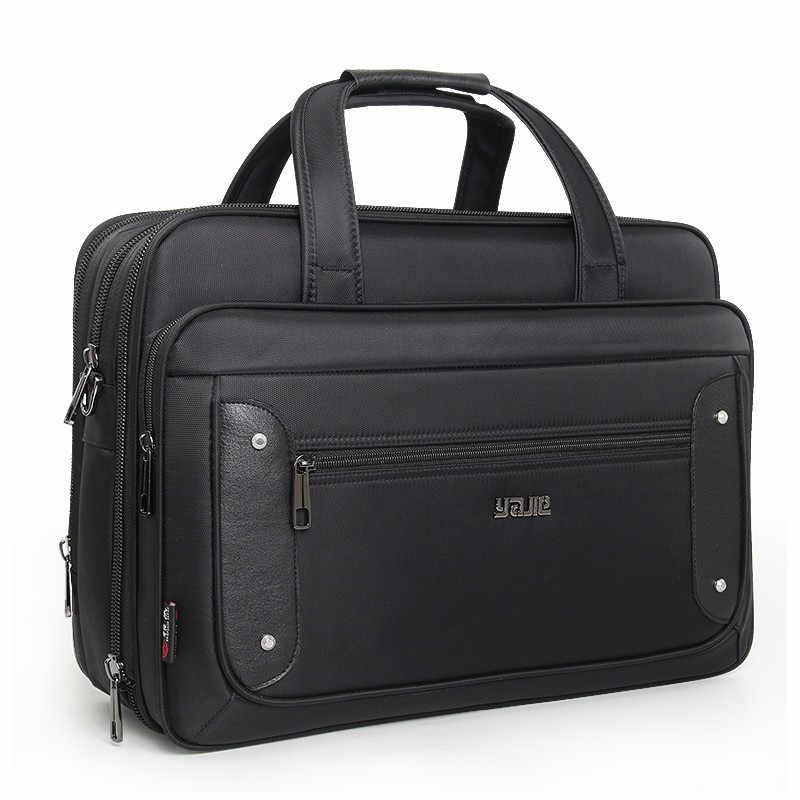 58a404d3b8b4 2019 топ-уровень супер емкость плюс бизнес мужской портфель женские сумки  для ноутбука 16 17