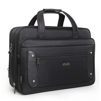 2019 Top-niveau Super Kapazität Plus Business herren Aktentasche Frauen Handtaschen Laptop Taschen 16 17 19 Zoll Oxford crossbody Reisetasche