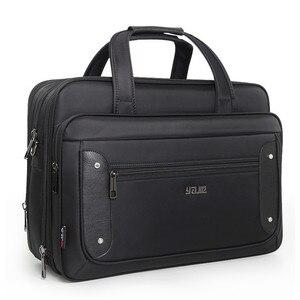 2020 Top-level Super Capacity Plus Business Men's Briefcase Women Handbags Laptop Bags 16 17 19 Inch Oxford Crossbody Travel Bag(China)