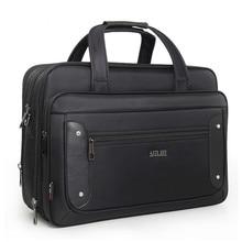 2020 топ уровень супер вместительность плюс деловой мужской портфель женские мужские сумки для ноутбука 16 17 19 дюймов Оксфорд сумка через плечо для путешествий