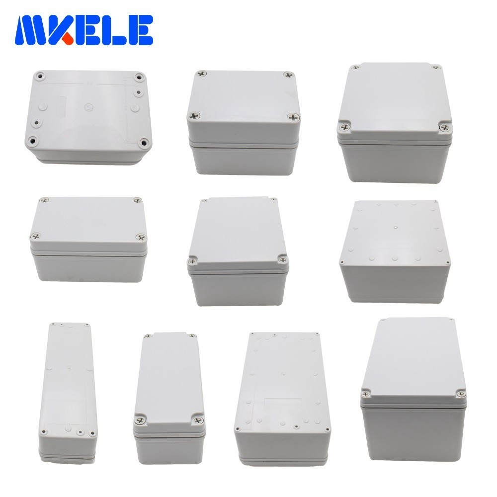 M3 Series Plastic Junction Box Waterproof Electrical Box ABS Material Case Elektronic Project Weatherproof Enclosure Box 1pcs universal waterproof abs plastic 318x236x155mm junction box project enclosure diy outdoor electrical connection cable box