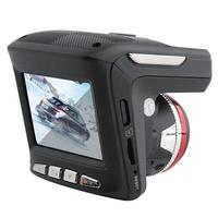New 2 In 1 HD 1080P Car DVR Camera Radar Laser Speedometer Camera Car Recording Safety Driving 2.4 LCD Display