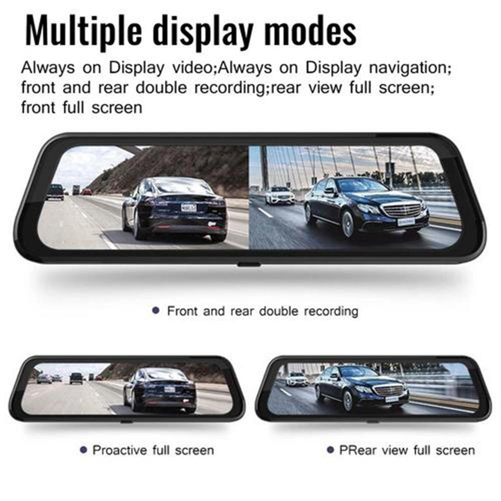 10 Inches Car Rearview Mirror Car Dvr Driving Recorder IPS Touch Screen Dash Camera Full HD 1080P Rear View Camera Night Vision 10 Inches Car Rearview Mirror Car Dvr Driving Recorder IPS Touch Screen Dash Camera Full HD 1080P Rear View Camera Night Vision