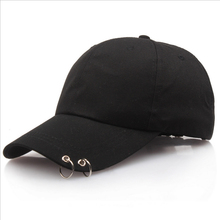 2019Hot Selling  Live The Wings Tour Fashion Pop Iron Ring Hats Adjustable Baseball Cap 100% Handmade