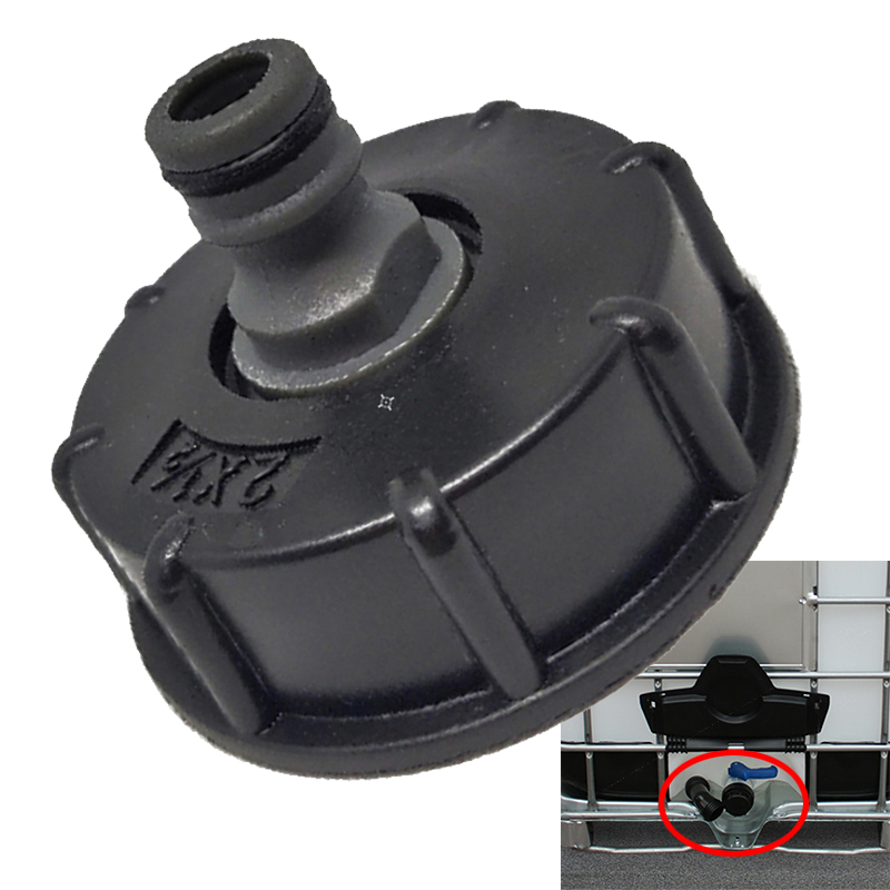 Mayitr 1Pc IBC Adapter Reducer Connector Water Tank Fitting