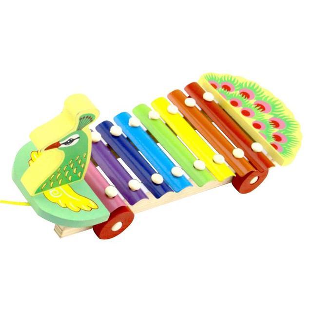 IRIN 3D principios 8 sonido Pavo Real Piano bebé chico desarrollo educación Montessori juguetes aprendizaje educativo