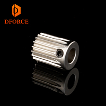 DFORCE Hardened steel BMG Extruder GAER Pinion Gear 5mm/0.5M 17T for motor Gaer Extrusion wheel titan