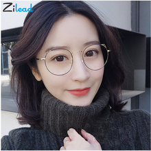 Zilead Cat Eye Child  Women Fashion glasses Brand Blue Shade Metal Frame Computer Student High Quality Simple Comforbale Glasses