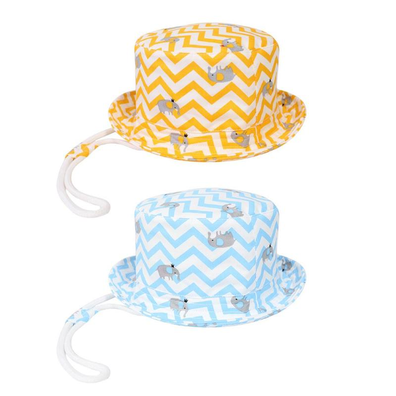 Boys' Baby Clothing Cute Cartoon Printing Bucket Panama Cap Kid Boys Girls Outdoor Fisherman Sun Hat Beach Bucket Sun Hat Baby Summer Hat For Kids Relieving Rheumatism And Cold Mother & Kids