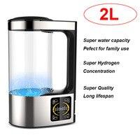 2L Super Big Capacity Household 4 Working Modes Small molecule Water Hydrogen Water Generator Hydrogen Water Kettle Ionizer