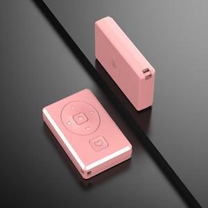Image 3 - Przenośny pilot zdalnego sterowania bezprzewodowy samowyzwalacz Bluetooth strona wideo z kolei migawki wielofunkcyjny lekki Mni urządzeń do telefonów