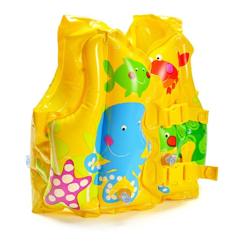 Baby Toddlers Swimming Safety Vest Summer Kids Safety Swimming Buoyancy Vest Children Beach Float Aid Life Jacket