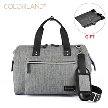 купить COLORLAND Baby Diaper Bag Backpack for Mom Stroller Nappy Changing Mommy Maternity Mother Organizer Wet Bags Care по цене 2278.19 рублей