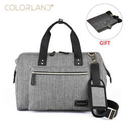 63e945d84a COLORLAND Baby Diaper Bag Backpack for Mom Stroller Nappy Changing Mommy  Maternity Mother Organizer