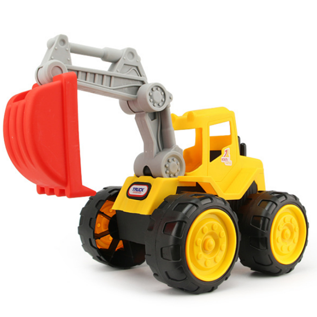 Beach Excavator Children Large Machineshop Truck Series Simulation Kids Fancy Summer Beach Sand Play Toys - Color Random