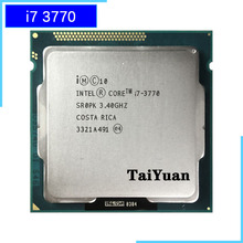 Intel Core i7 3770 i7 3770 3.4 GHz Quad Core מעבד מעבד 8M 77W LGA 1155