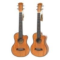 Tenor Acoustic 26 Inch Ukulele 4 Strings Guitar Travel Wood Mahogany Music Instrument