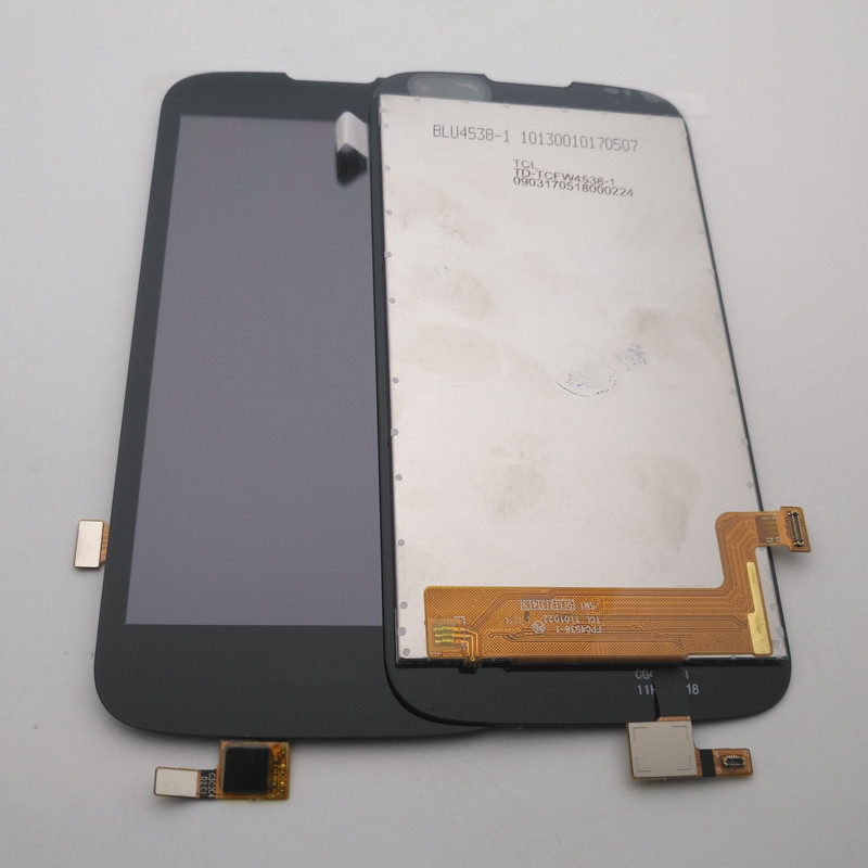 ESC For <font><b>LG</b></font> K3 2016 K120 <font><b>K100</b></font> K100ds LS450 LCD Display + Touch Digitizer Screen glass Assembly + adhesive sticker + tools image