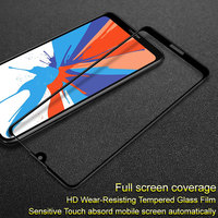 Para Huawei Y7 2019 Y7 Prime 2019 Imak filme vidro temperado pro versão Completa cobertura protetor de tela sensível ao toque em tela cheia