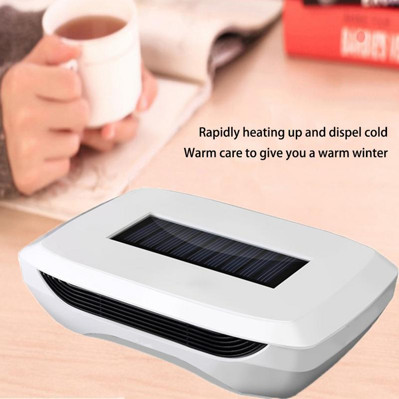 Multifunctional Solar Car Mounted Warm Air Blower Sun Power Heater Automatic Warm Fan With Air Purification