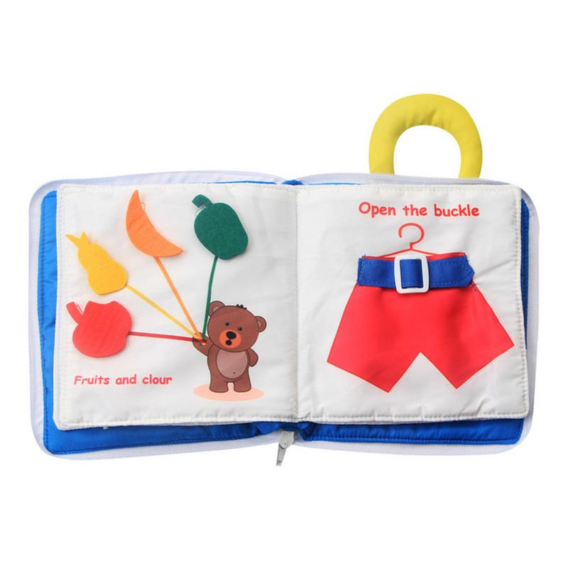 Cloth Books Infant Early Cognitive Development Montessori My Quiet Book Baby Goodnight Educational Washable Activity Cloth BookCloth Books Infant Early Cognitive Development Montessori My Quiet Book Baby Goodnight Educational Washable Activity Cloth Book