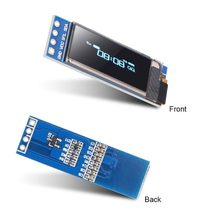 0.91 Inch 128x32 IIC I2C Blue OLED LCD Display DIY Module SSD1306 Driver IC DC 3.3V 5V For Arduino PIC(China)