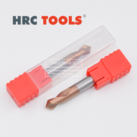Q12 16Dx90ax100L CNC Tungsten Steel chamfer endmill HRC55 2 Flute Engraving Bit