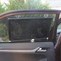 JXLCLYL 40*60cm Car Side Retractable Windshield Window Sun Shade Visor Curtain Shield|Windshield Sunshades| |  -