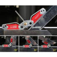 Magnetic Holder Corner Welding Adjustable Magnets Welding Locator Magnetic Holder Welding Fixture Corner Right Angle Clamp