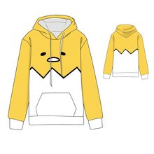Hot  Anime Gudetama Cosplay Hoodies Standard Hooded Winter Tops Unisex miku funny Sweatshirts