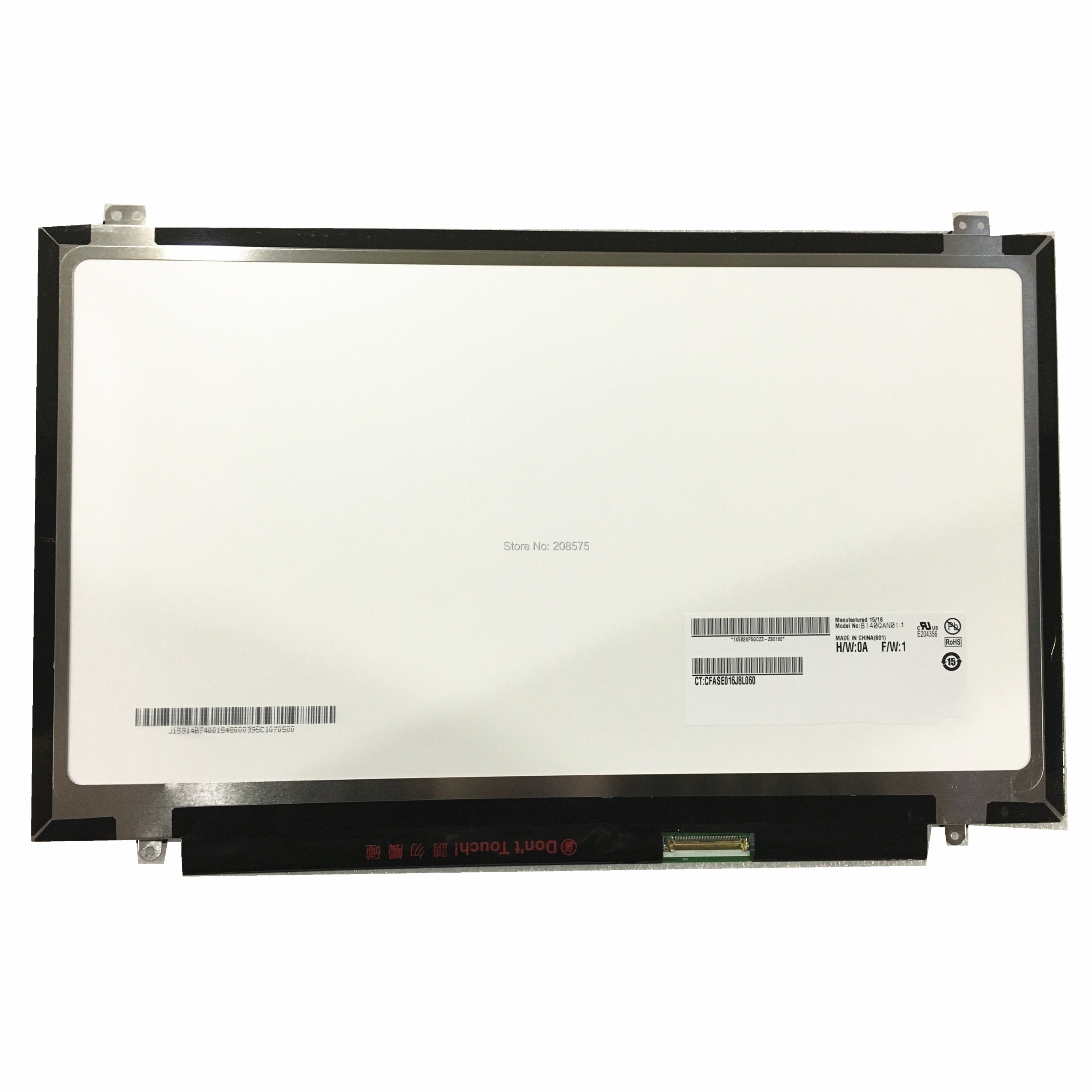 "DELL Latitude 15 3550 LED LCD Screen for 15.6/"" eDP WUXGA FHD Display 1920X1080"