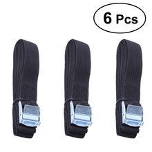 6Pcs Kayak Roof Rack Lashing Straps With Buckle For Boat Bike Motor Cargo Tie Down Car Roof Rack Luggage Kayak Carrier Rope(China)
